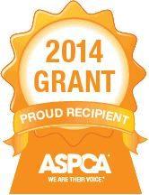 ASPCA 2014 Grant